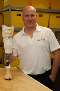 Richard Romaine, Fabrication tech at Sunshine Prosthetics and Orthotics in Wayne NJ