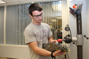 Nicholas Videtti, intern at Sunshine Prosthetics and Orthotics in Wayne NJ