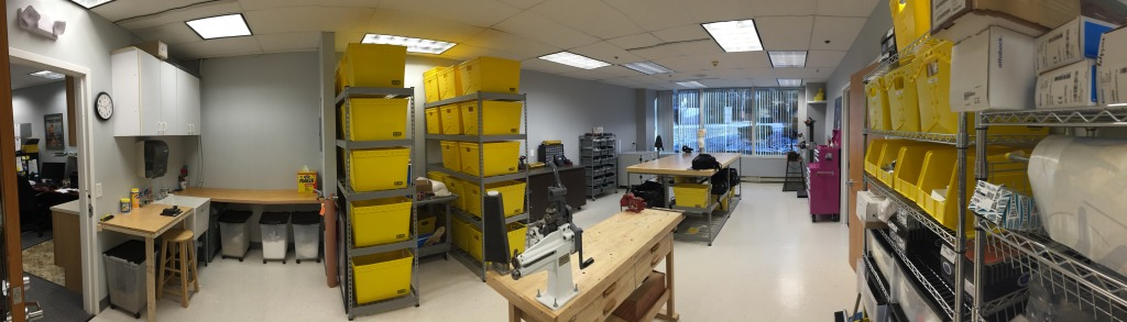 new inhouse fabrication shop at Sunshine Prosthetics & Orthotics in Wayne NJ