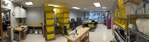new inhouse fabrication shop at Sunshine Prosthetics & Orthotics in Wayne NJ