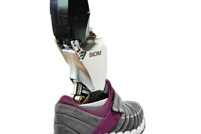 BiOM bionic Ankle with large battery - Sunshine Prosthetics and Orthotics in Wayne NJ