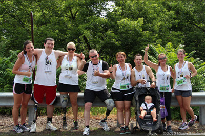 Team Sunshine at the Lincoln Park Triathlon 2013 - Sunshine Prosthetics and Orthotics, Wayne NJ