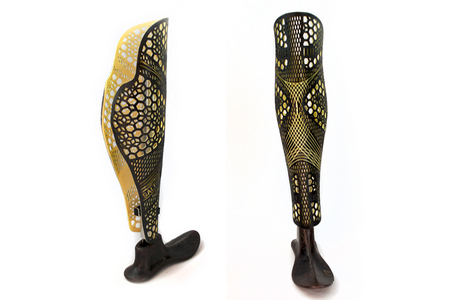 Salt Pro Prosthetic Cover Design by the Alleles Design Studio - Available at Sunshine Prosthetics & Orthotics in Wayne NJ