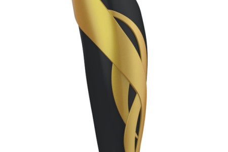 Ribbons Black Gold - UNYQ Prosthetic 3D cover - at Sunshine Prosthetics & Orthotics, Wayne NJ
