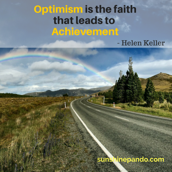 Optimism leads to Achievement - Sunshine Prosthetics and Orthotics