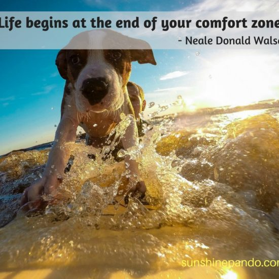 Go for it beyond your comfort zone!  - Sunshine Prosthetics and Orthotics