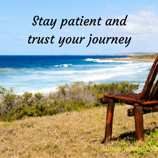 Stay patient and trust your journey -  Sunshine Prosthetics and Orthotics